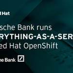 Image for the Tweet beginning: By deploying #RedHat @OpenShift on