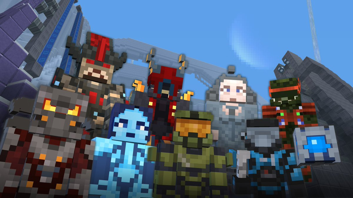 Happy Birthday, @Minecraft! Want to build a ring world together and celebrate?