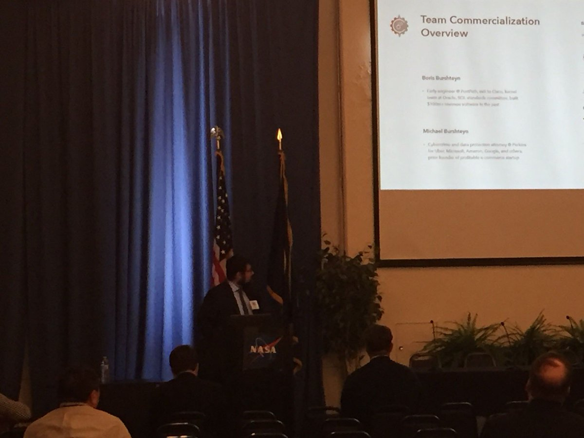 Yesterday, our CEO and Cofounder @burshteyn spoke on moving target defense for drones at the Third Annual UAS Conference at NASA Ames. 🚀