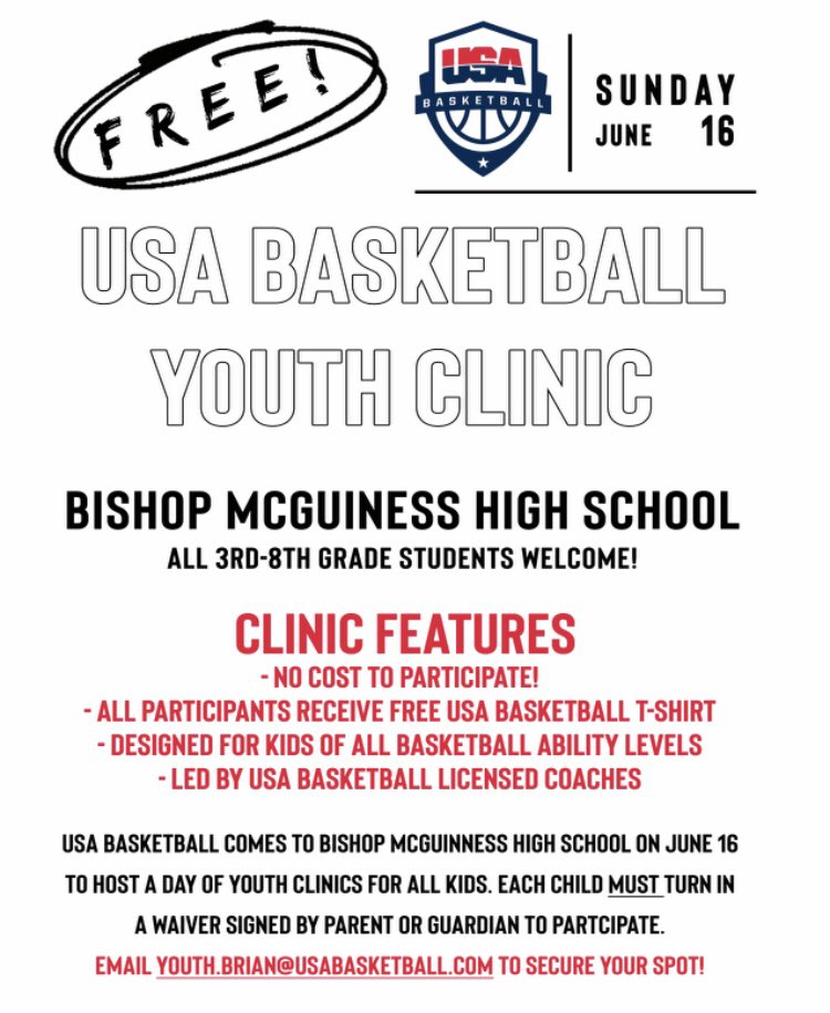 6cc69e40f All participants must pre-register by emailing  youth.brian@usabasketball.com Two clinics times to choose from: 1:00-2:15  or 2:30-3:45.pic.twitter.com/ ...