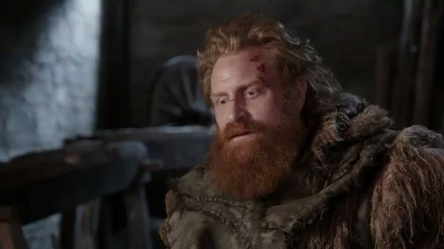 """I really loved playing Tormund."" - @kristoferhivju #GameofThrones"