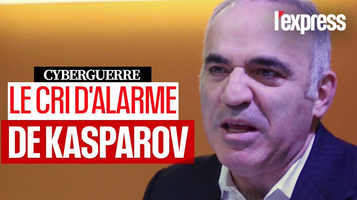 Gary Kasparov tire la sonnette dalarme sur la cyberguerre menée par la #Chine, la Russie et dautres pays #VivaTech v @LEXPRESS