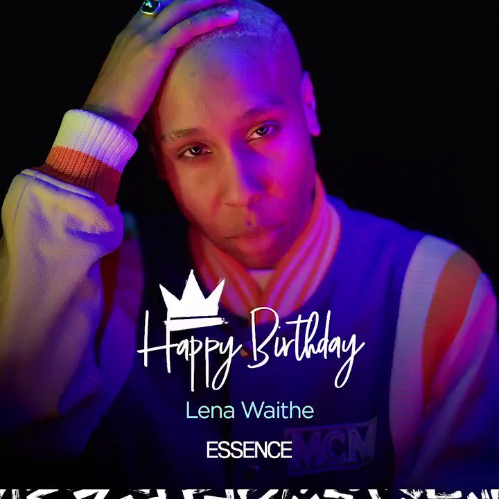 Happy 35th birthday to the one and only @LenaWaithe. Thank you for sharing your superpowers with us. 🎂
