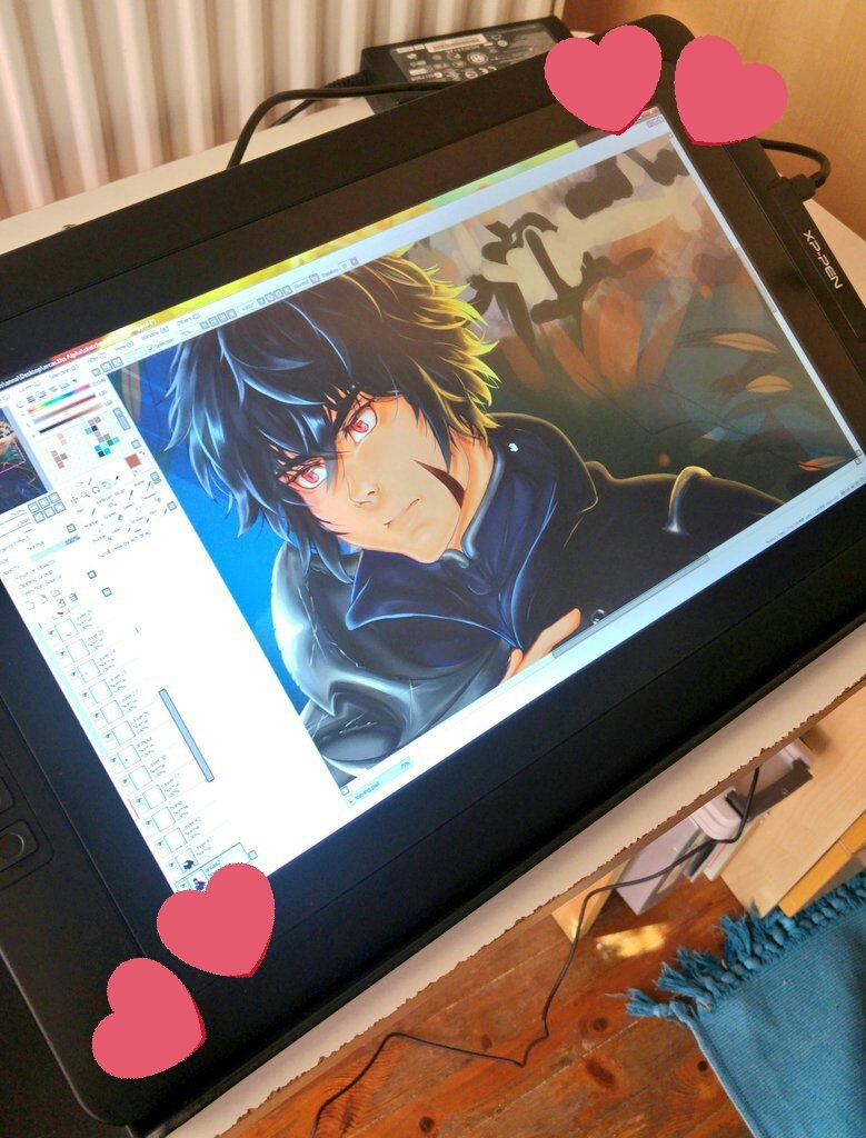 MY NEW TABLET IS HERE I always wanted to try one of these and i love it!! An AMAZING product Good job @XPPen @xppenusa  I tested with my oc ARCAS #art #ArtistOnTwitter #ArcasTheAlpha #xppen<br>http://pic.twitter.com/LKmlRQpDzE