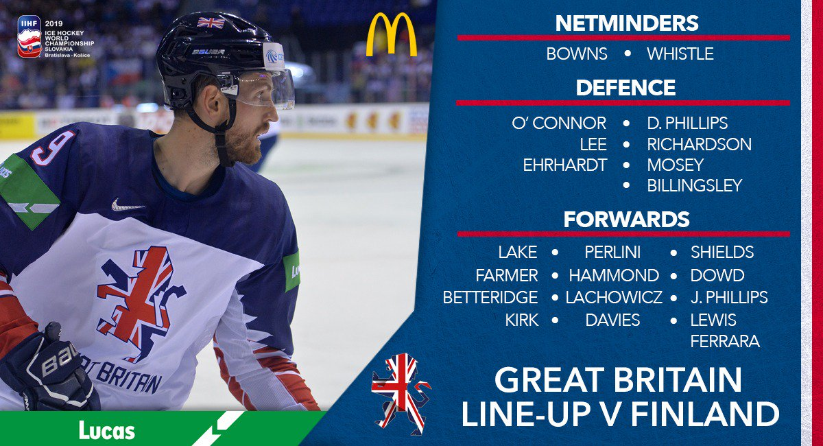 Team Gb Ice Hockey On Twitter Your Gb Line Up For Tonight S World