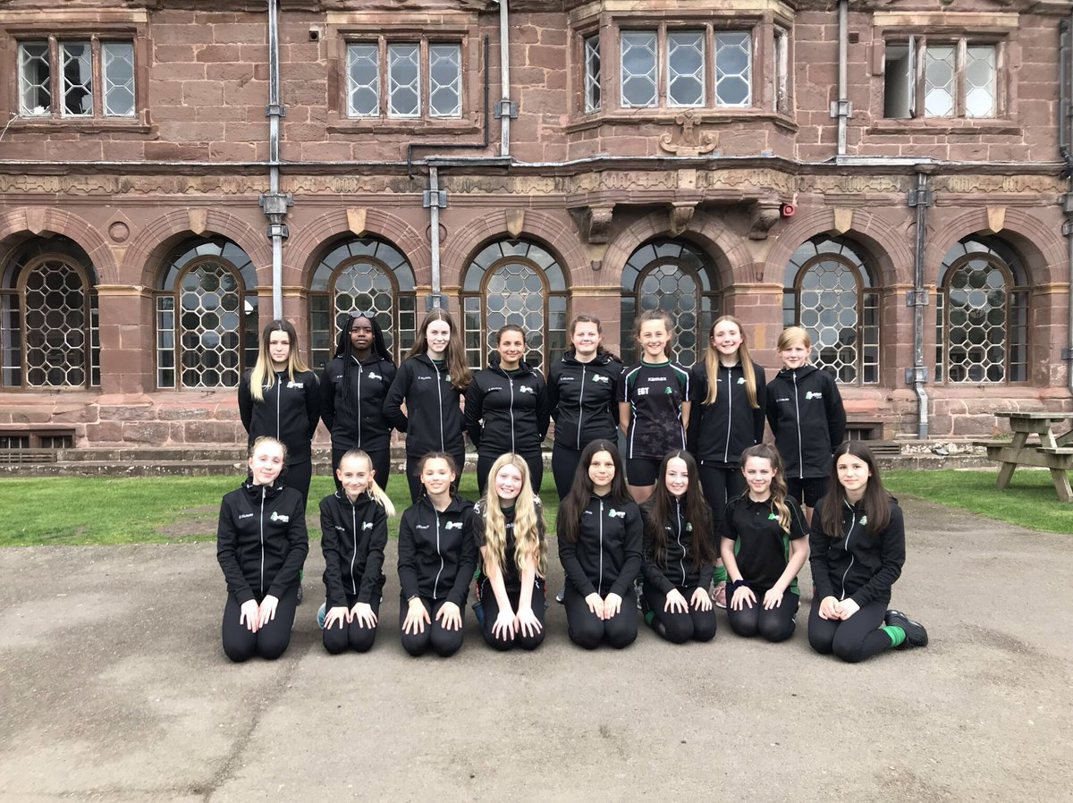 Year 8 netballers arrived and ready for the weekend ahead, thanks for the new hoodies @KukriSports! #squadgoals @JCA_Adventure