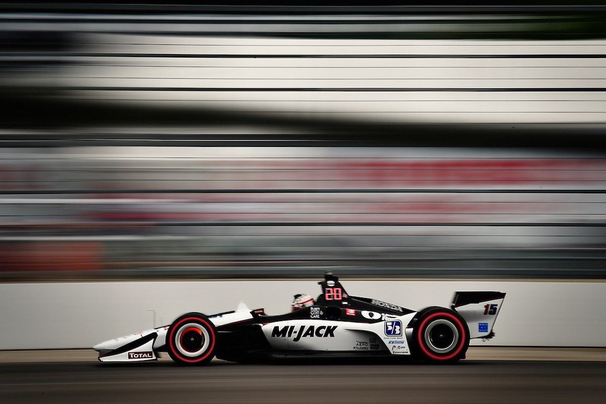 🏁 Graham Rahal is chasing pole position this weekend for Indy 500 Qualifying. #ThisIsMay #INDY500