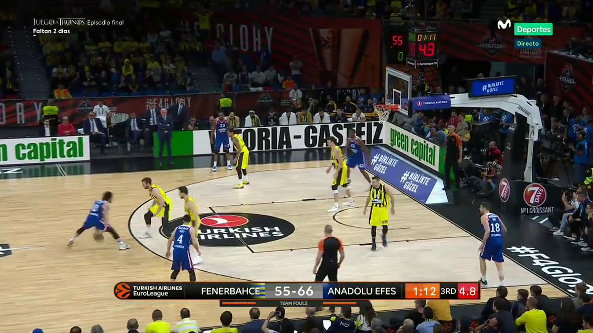 Basket en Movistar+'s photo on Fenerbahce