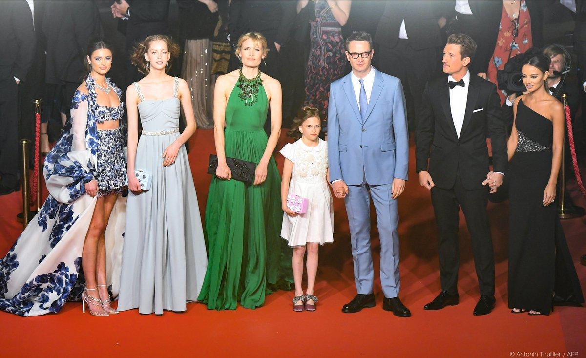 Nicolas Winding Refn et Miles Teller à Cannes