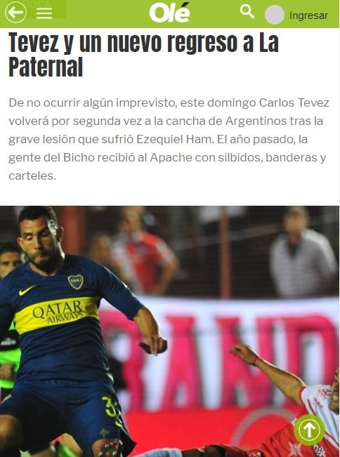 Fogonearon a la gente de Vélez contra @mau_zeta. Ahora empezando por @DiarioOle  fogonea a los de Argentinos contra #Tevez.  ¿Cuándo van a parar esta locura? ¿Tiene que haber un jugador muerto para que bajen un cambio?