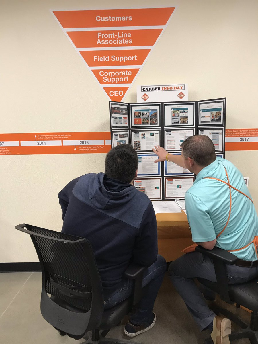 SM Parker Wightman going through #Careerday with associate Arren and showing him how to climb the Orange ladder! #PNW4thewin <br>http://pic.twitter.com/fSvPpcfbEu