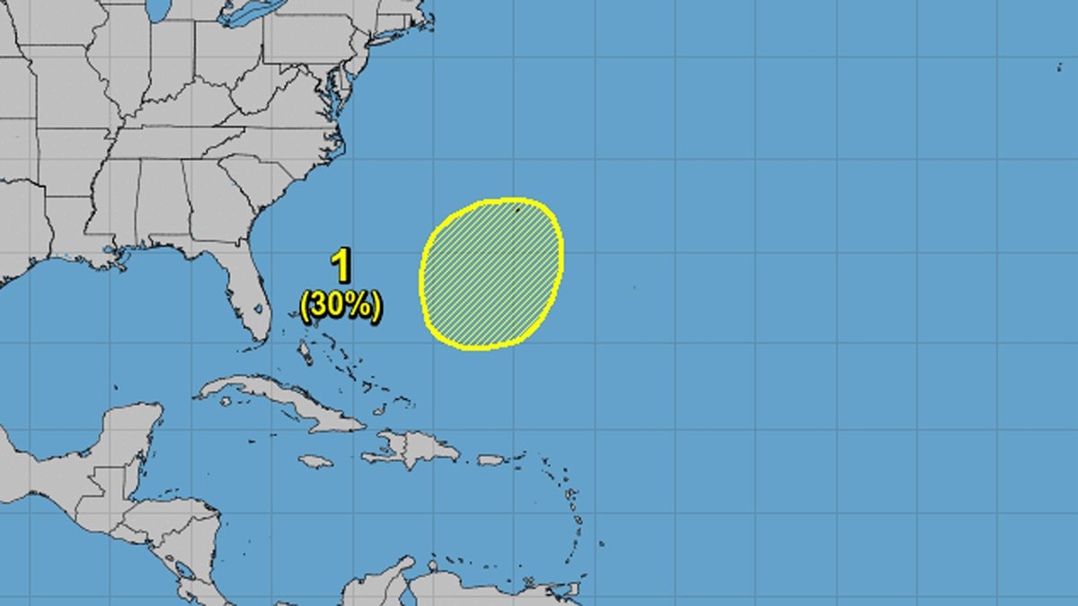 Forecasters keeping eye on possible tropical system over the Atlantic: http://on.nbc6.com/hxmsj1A