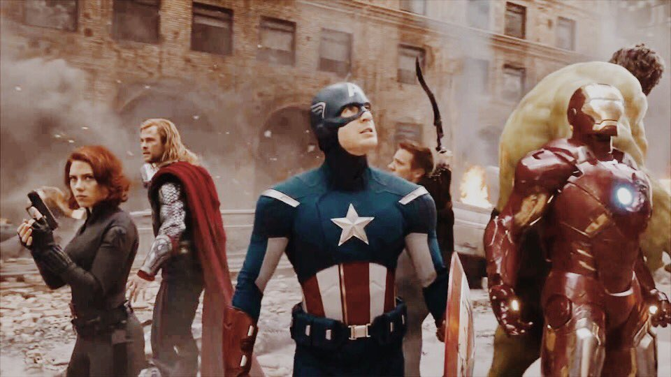 friendly reminder that steve rogers led the avengers in battle from the start to the very end