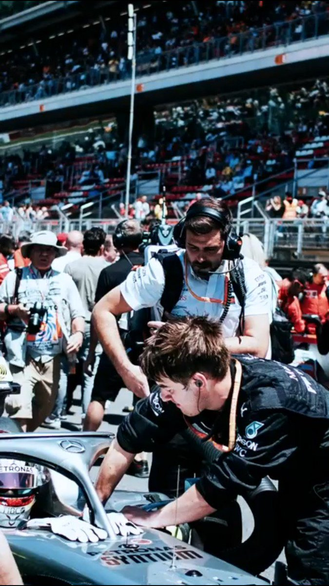 Race Day with an F1 Mechanic! 🔧   WATCH 👉http://mb4.me/Qw3CEBd7  #SpanishGP
