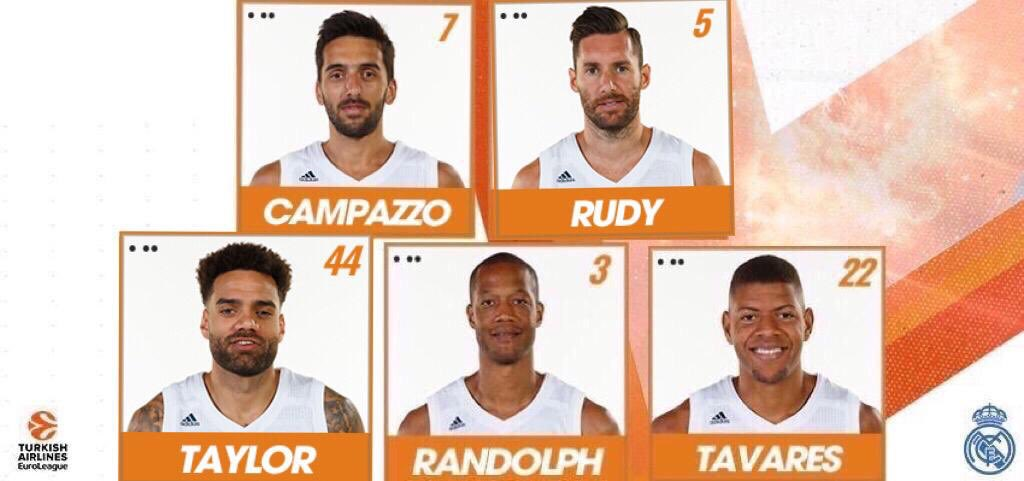 Real Madrid Basket's photo on Randolph
