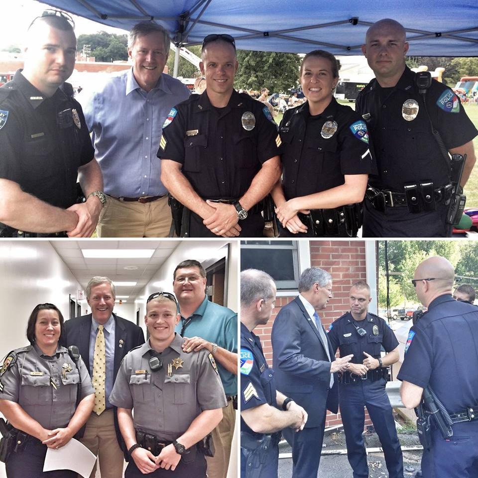As we close out this #PoliceWeek I'm reminded of so many of our country's brave men and women who protect and serve our communities everywhere. They truly represent the best of us. Thanks so much to all our police officers! God bless you.