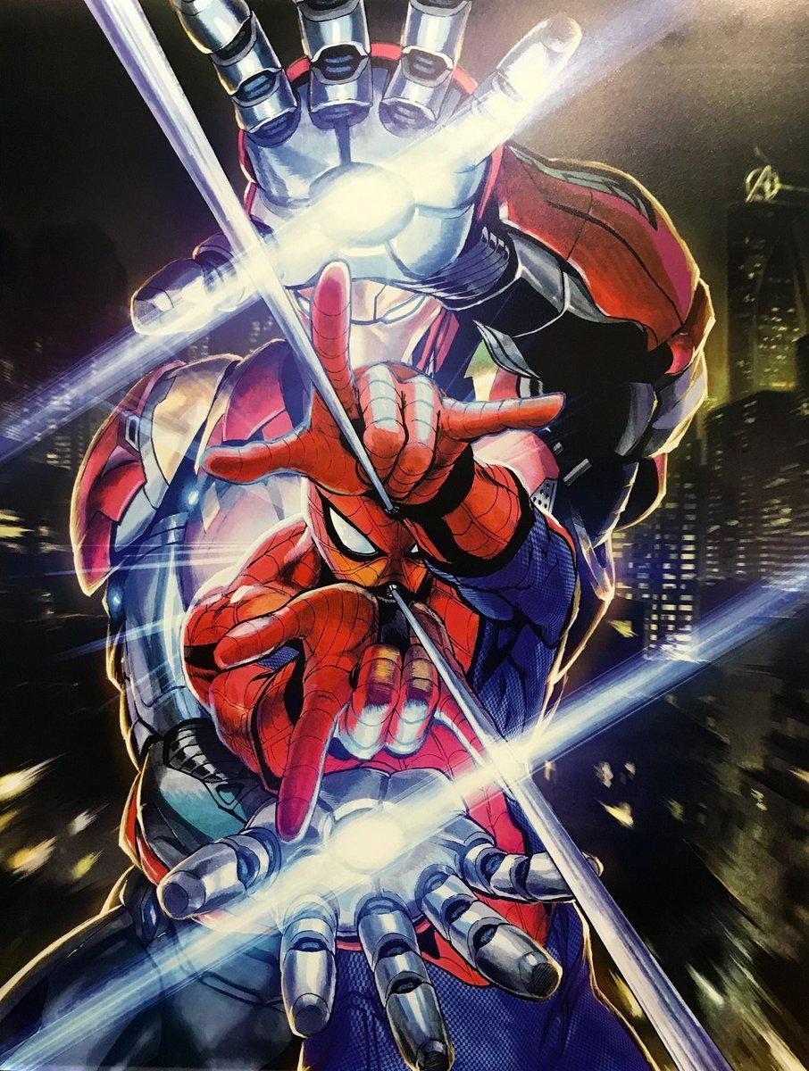 Art by Yusuke Murata of One-Punch Man fame. Spifftacular stuff.