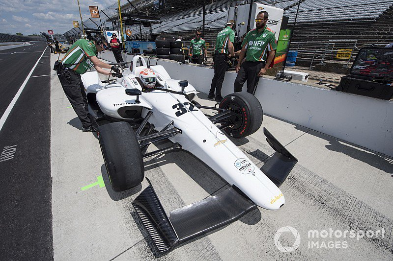 . @JuncosRacing vigorously working to ensure it can take part in #Indy500 qualifying this weekend after Kaisers big crash this morning - tinyurl.com/yyqh7tur @IMS @IndyCar