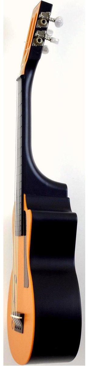 bugsgear eleuke f hole concert plastic ukulele