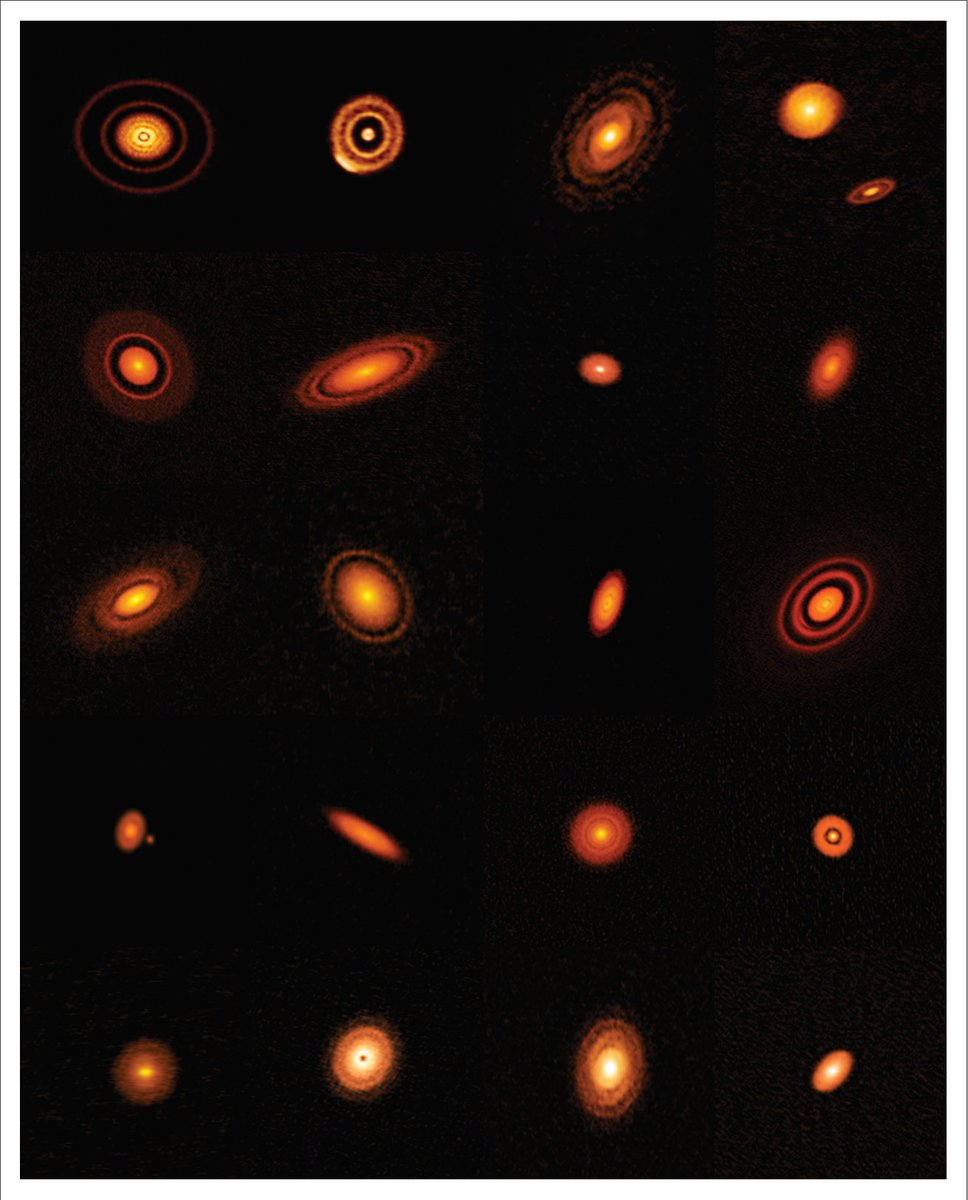 #ALMA Observatory is featured in @NatGeo for DSHARP.! This program has yielded twenty high-resolution images of nearby protoplanetary disks, giving astronomers new insights into the speed with which planets can emerge. nationalgeographic.com/magazine/2019/…