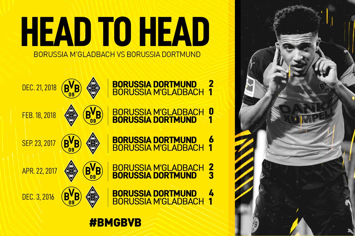 Borussia Dortmund's photo on Gladbach
