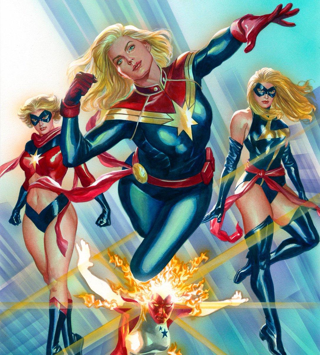 Captain Marvel   #captainmarvel  #marvelcomics #tgif #comicart<br>http://pic.twitter.com/yVcP8MVr2Q