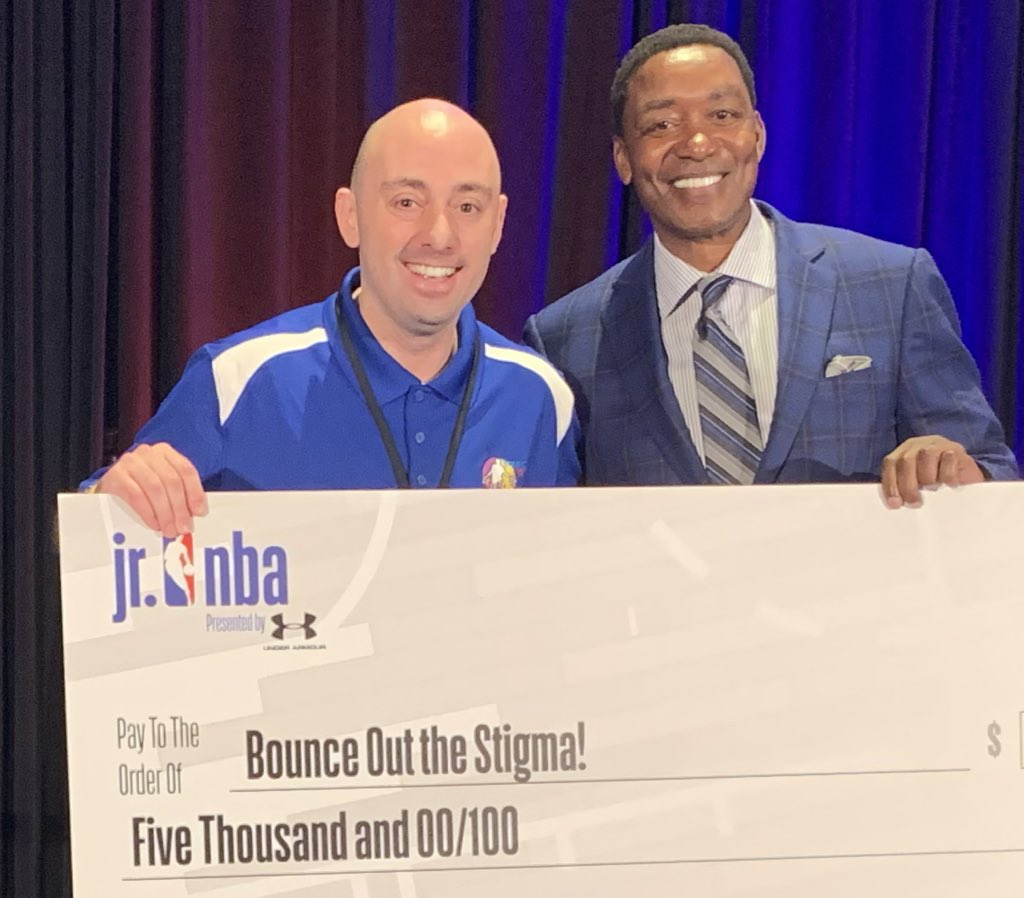 Congratulations, Bounce out the Stigma, keep up the great work with our youth coach! @jrnba @Cheurlin1788