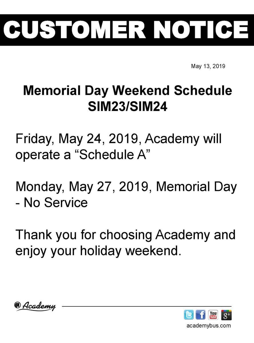 Academy Bus on Twitter: