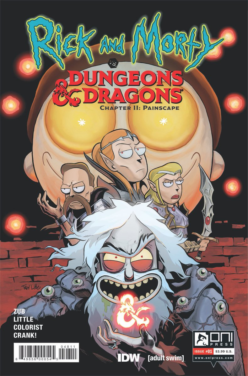 RICK and MORTY VS DUNGEONS & DRAGONS II: Painscape (D&D comes to Earth along with Rick Sanchez's old D&D characters)  DUNGEONS & DRAGONS VS RICK and MORTY Tabletop Roleplaying Game Adventure (Rick is your DM and your game will never be the same)  #DnD #dndlive2019