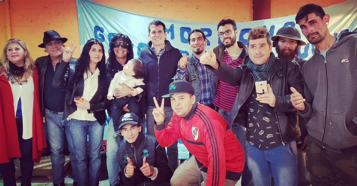 Con las compañeras y compañeros de Marcos Paz, poniendo en pie el Frente Patriótico de Liberación Nacional