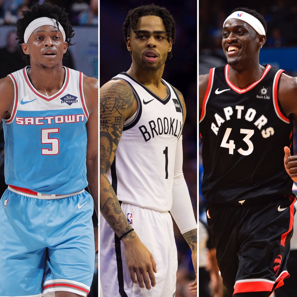 NBA on ESPN's photo on Pascal Siakam