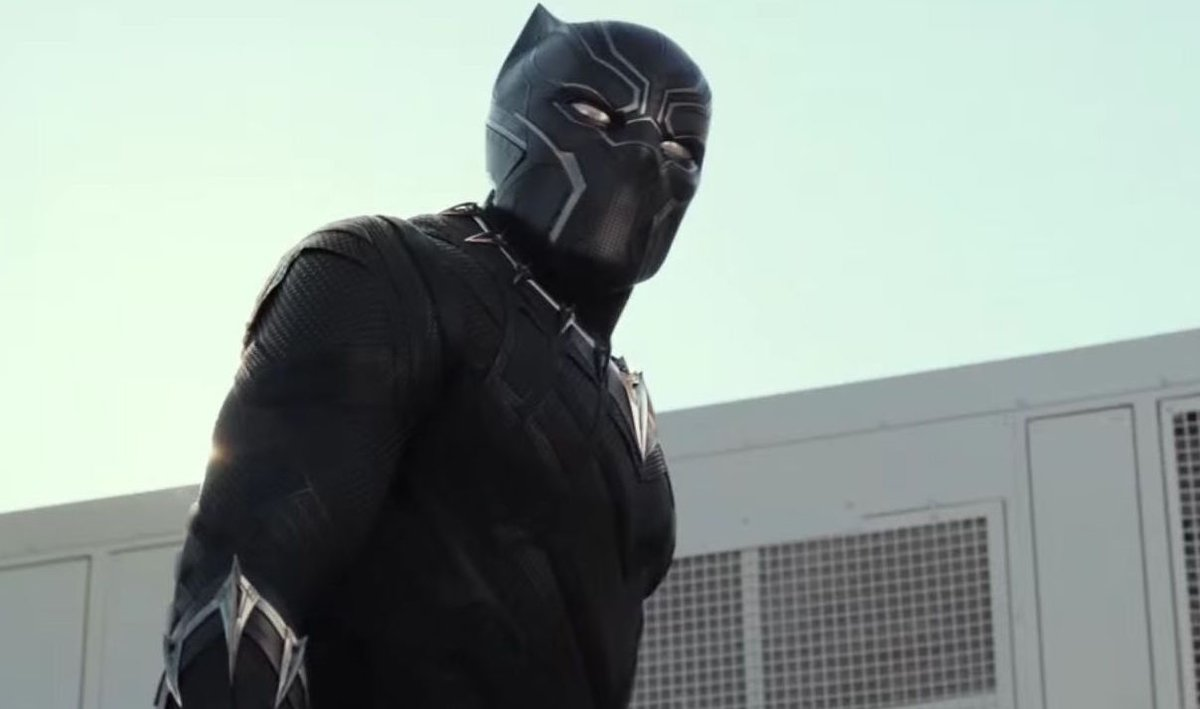 I still say  the T&#39;Challa we got in #CaptainAmerica : Civil War  was better than  the T&#39;Challa we got in #BlackPanther . <br>http://pic.twitter.com/5tyJMjhYtz
