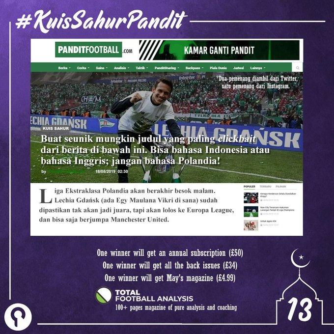 #KuisSahurPanditTFA Photo