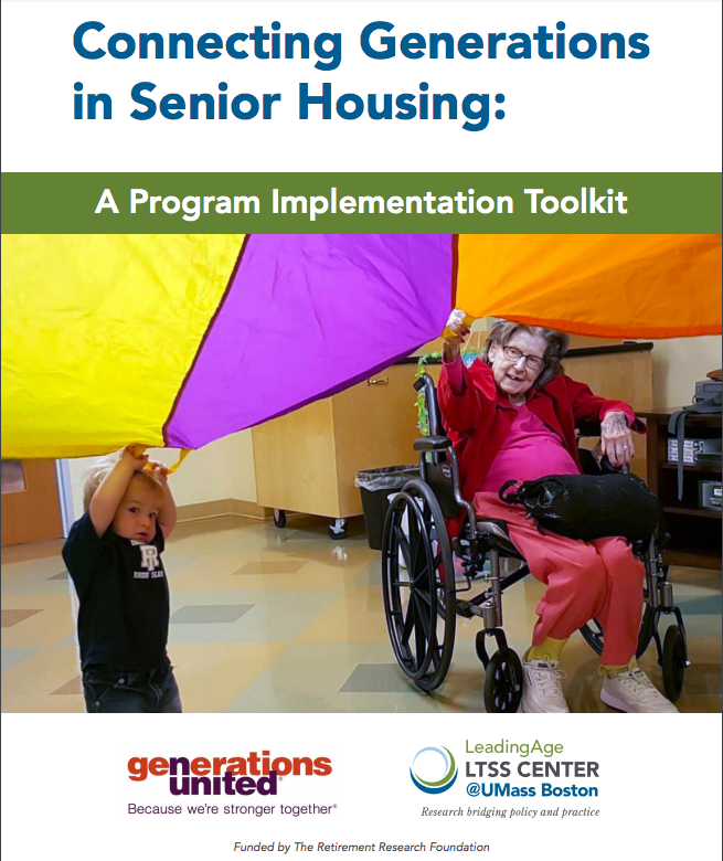 New Release! This new toolkit by the @LTSSCenter and @GensUnited explores the range and nature of intergenerational programming within senior housing.   Read the toolkit here:  https:// bit.ly/2w1Veso  &nbsp;    #MaryWade #OAM19 #SeniorLiving #SeniorHousing #SeniorCare #NursingHome<br>http://pic.twitter.com/WphZeD3JlU