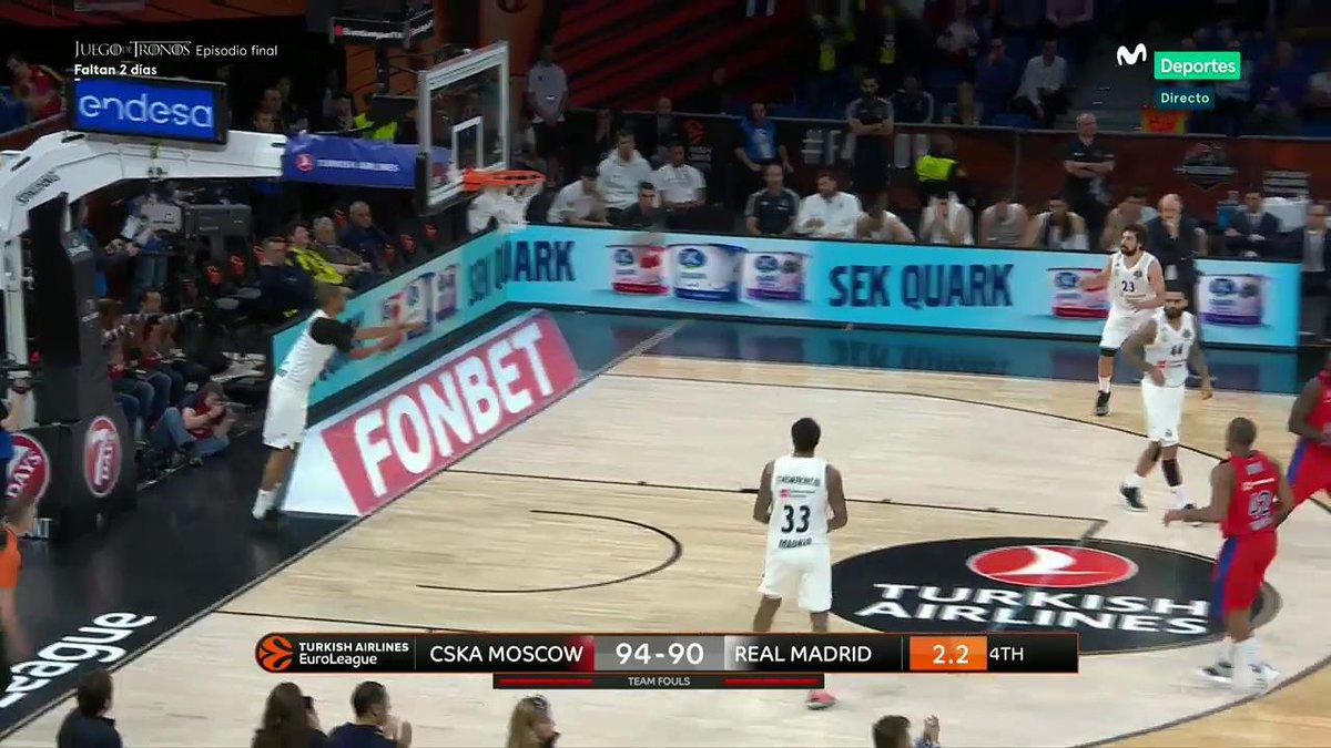Basket en Movistar+'s photo on CSKA