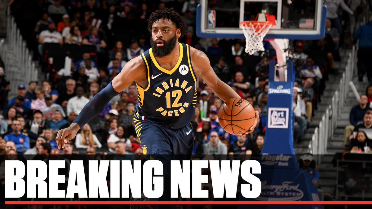 5dd0f55adae Breaking  The Pacers have been informed by the NBA that Tyreke Evans has  been dismissed from the league for violating the terms of the NBA NBPA  Anti-Drug ...