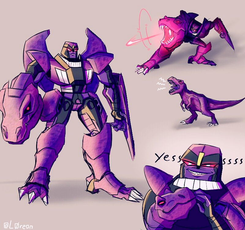 Beast wars is crazy so I haven't watched it yet. But I did watch that Jobby video and now I like Barnie the Megatron #BeastWars #Transformers