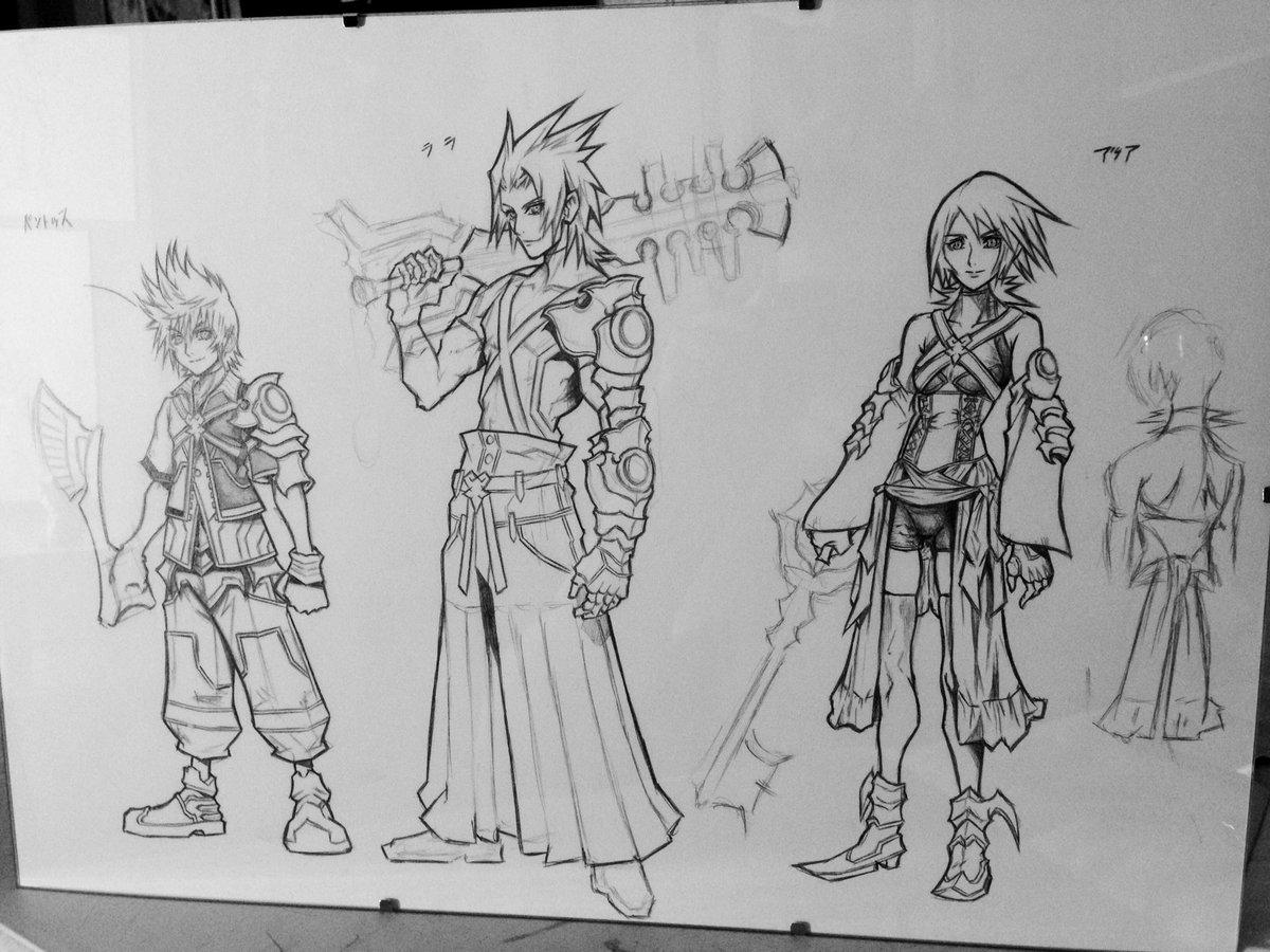 Action Sketches Concept Art