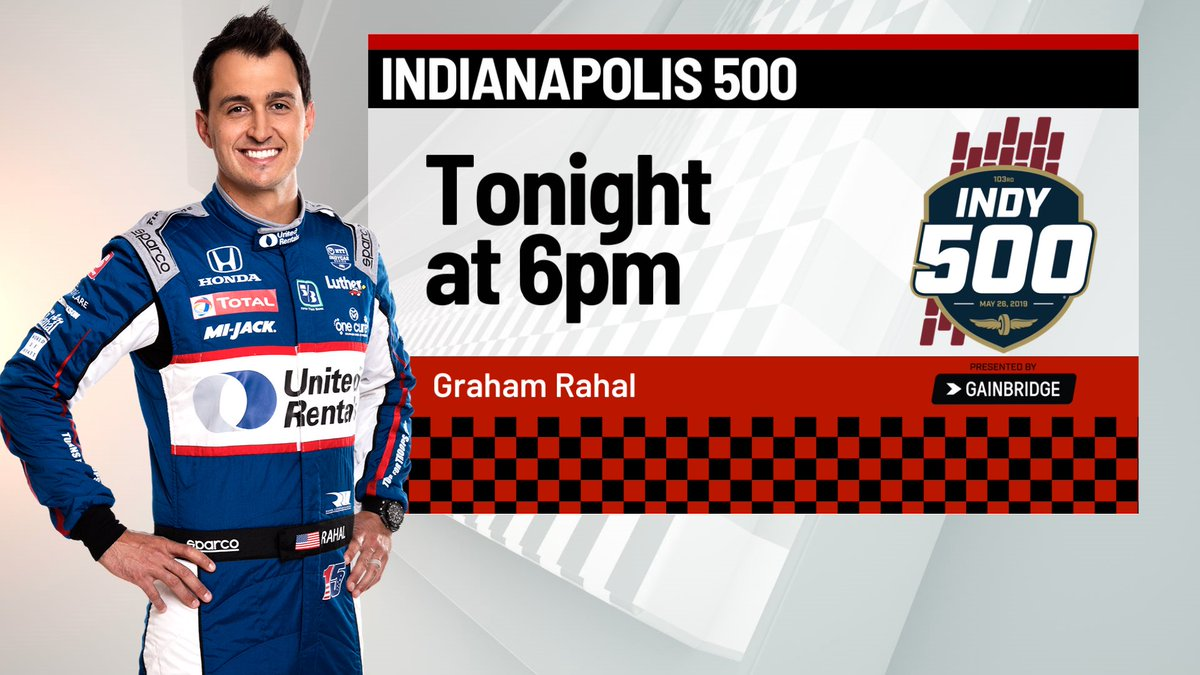 See you at 6pm ⁦@WISH_TV⁩ ⁦@GrahamRahal⁩ #Indy500