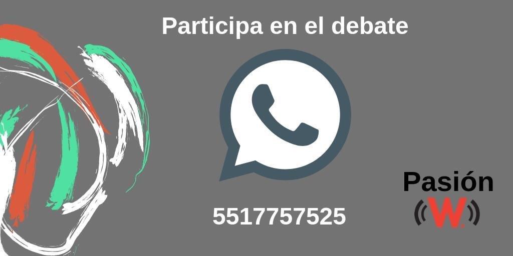 ¡Arraaaanca #PasiónW! @JC_Zuniga @AlejandroGomezA y @josebriseno en la mesa para hablar de toooodo lo que dejaron las semifinales de la @LIGABancomerMX ¡Préndele al  96.9 FM y 730 AM!