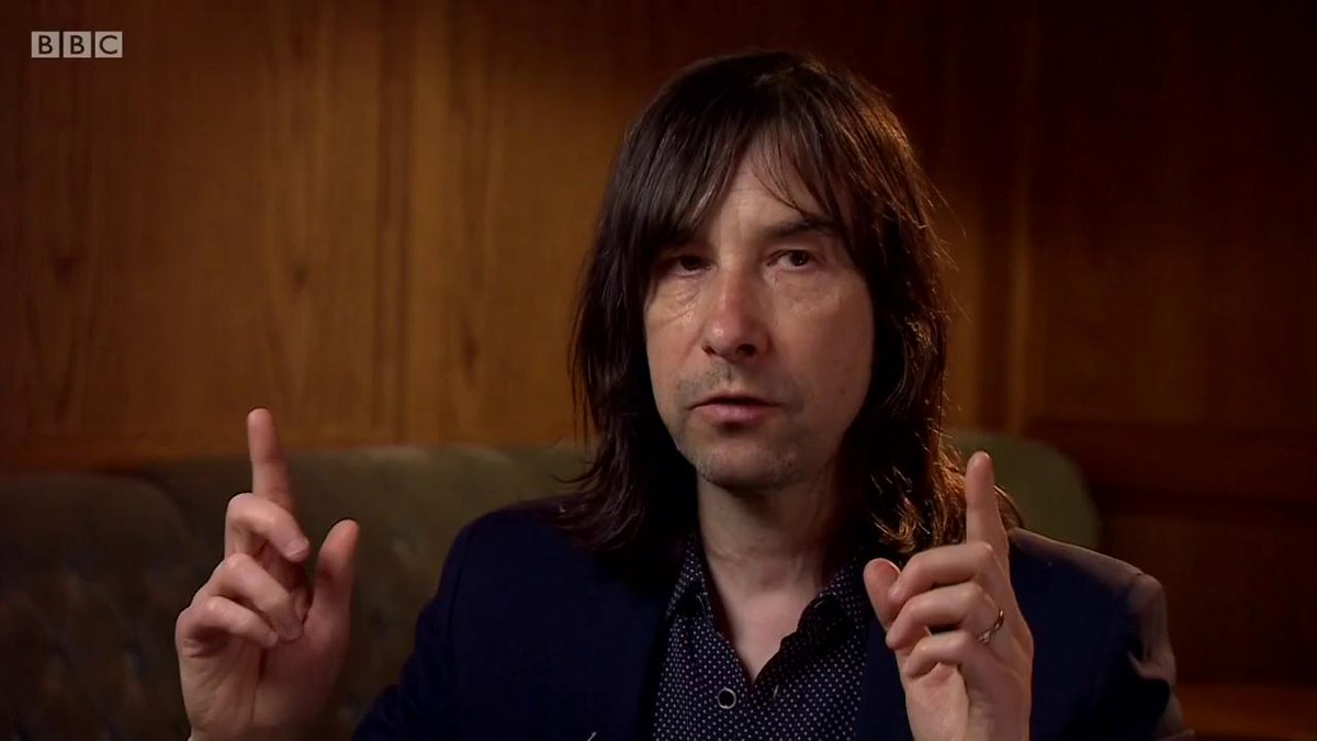"""Your music isn't really real until you have this physical piece of vinyl… then you feel this is our art.""  Speaking ahead of the release of a new greatest hits album, Primal Scream's  Bobby Gillespie reflects on streaming    #newsnight  