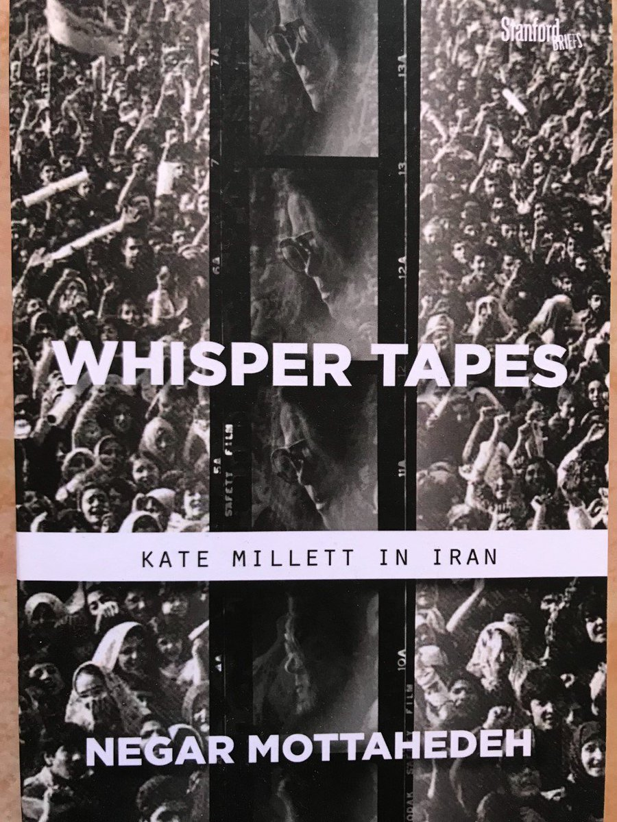 [continued] @negaratduke &#39;s new book, Whisper Tapes: Kate Millett in Iran tells the story of this amazing American feminist icon&#39;s trip to Iran for #InternationalWomensDay in 1979. As the celebration turned into 6 days of demonstrations [...] <br>http://pic.twitter.com/ticAro1abL