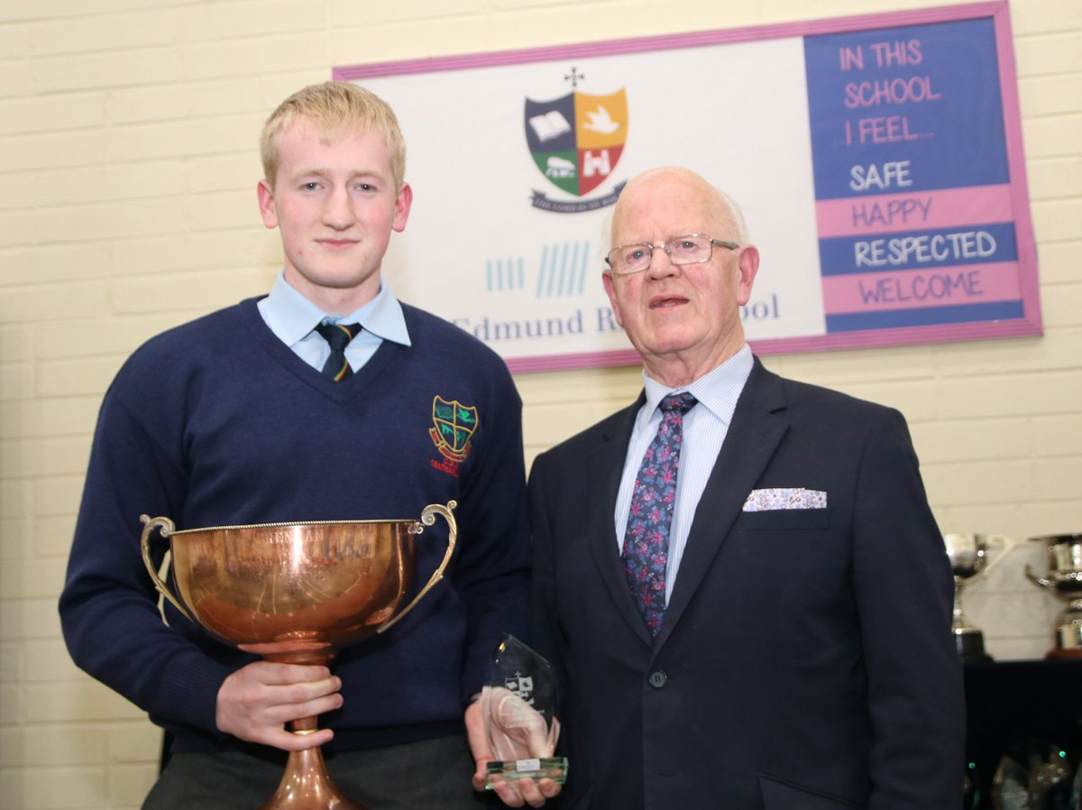 More St Mary&#39;s Academy CBS Awards Night winners- Cathal, Daniel, Jeremiah and Jack . Anne Brennan Award winner, Edmund Rice Award Winner, Ahtletics Winner and Outstanding Award for a World Championshoip winner... all part of our student body that is CBS Carlow. <br>http://pic.twitter.com/pmF5aScCNF