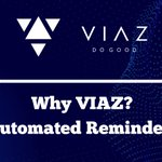 Image for the Tweet beginning: Why VIAZ? (Automated Reminders)  Learn More: