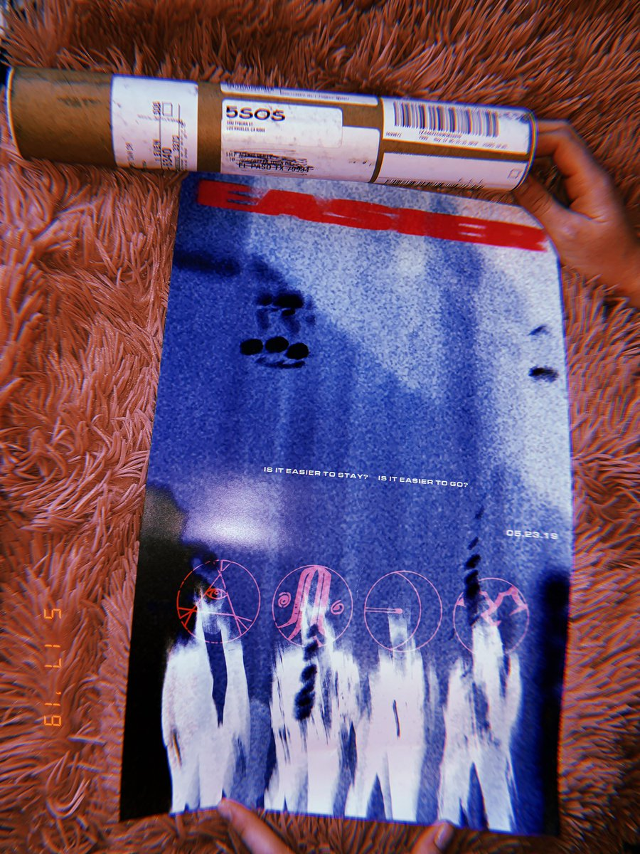 got this in the mail today!?! 💓 @5SOS #EASIER