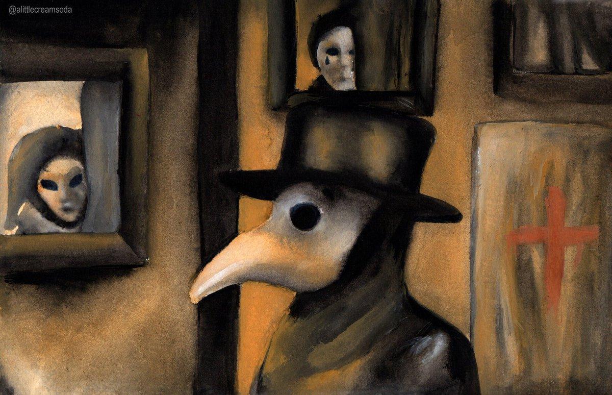 Resultado de imagen para pinturas de peste
