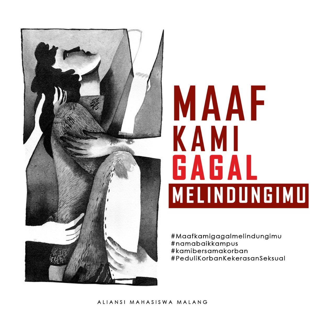 Untuk semua korban kekerasan seksual di UIN Maulana Malik Ibrahim Malang:
