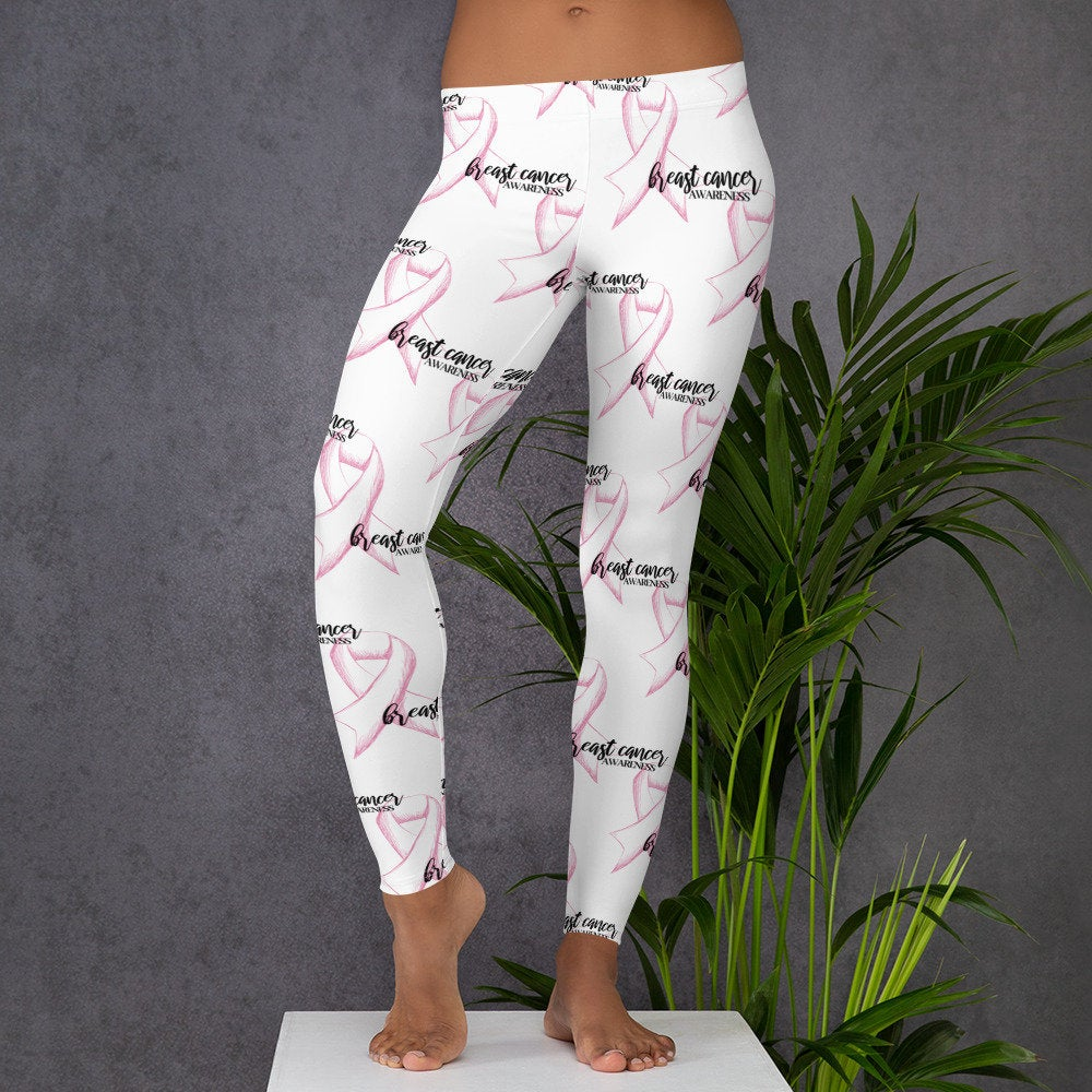 9123fe5136368b Excited to share the latest addition to my #etsy shop: #BreastCancer  Leggings #