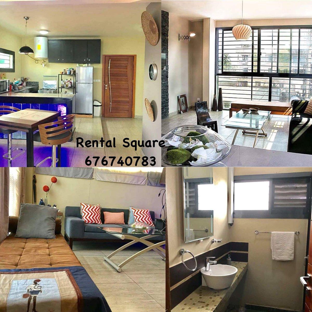A louer ❗ 👉🏾 appartements meublés 123 chambres