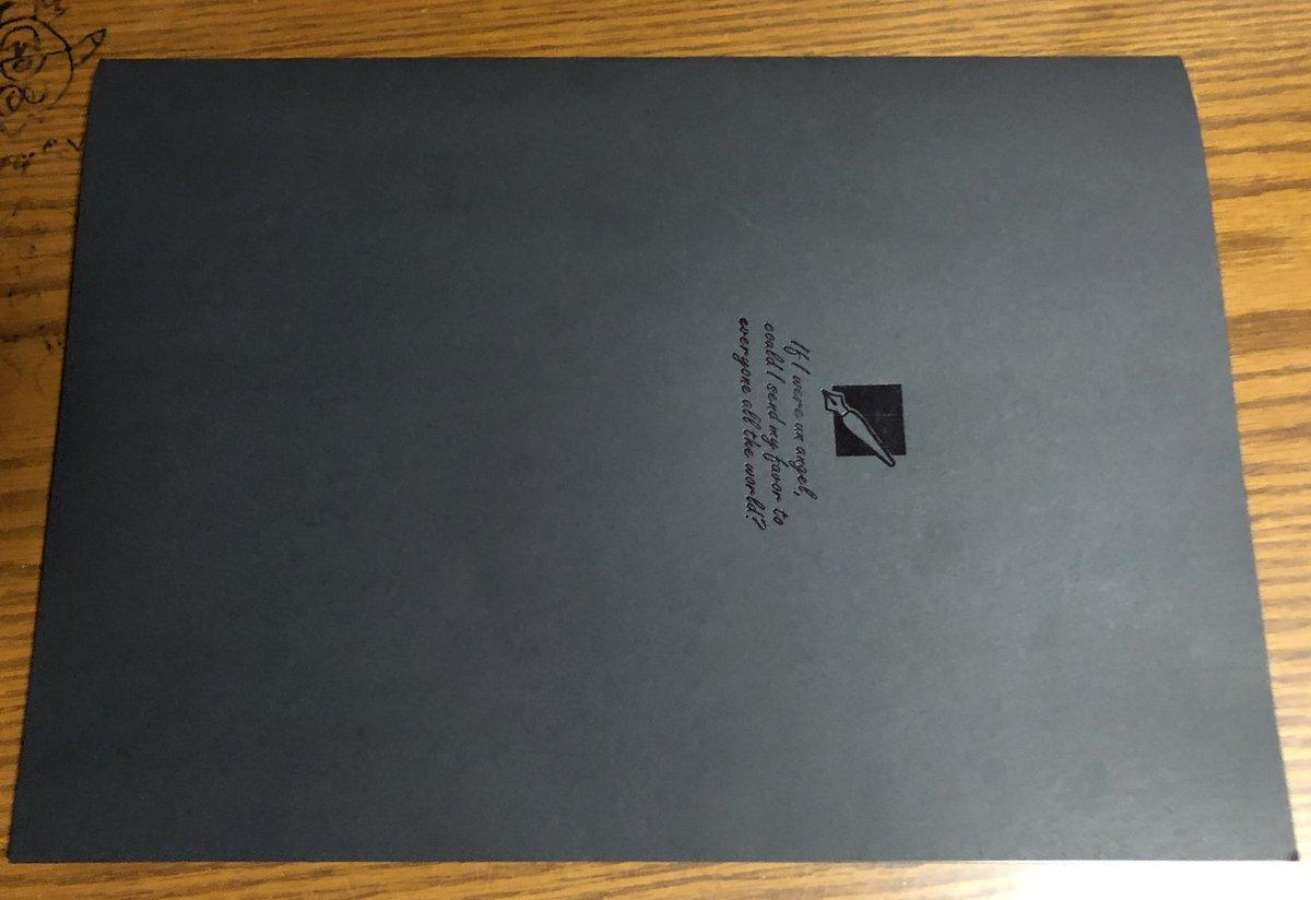 test ツイッターメディア - セリアにあったむちゃくちゃデスノートっぽいノートに書いてある内容がなんか優しくて草生えるw #デスノート #セリア #ノート https://t.co/BB6UpL16cP